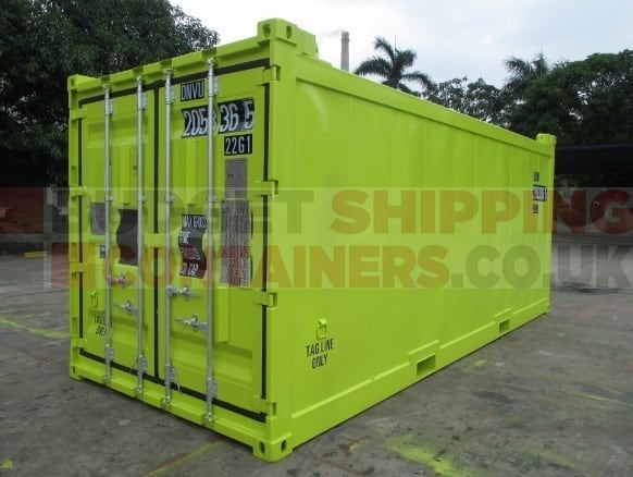 abs guide certification offshore containers