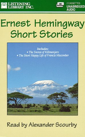 study guide the snows of kilimanjaro by ernest hemmingway