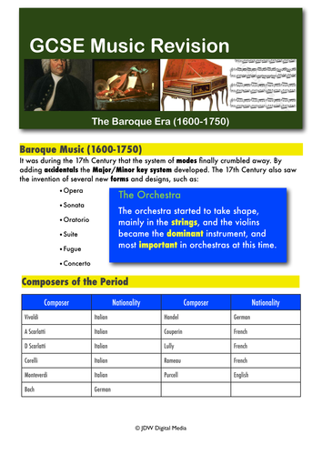 classical music listening guide pdf