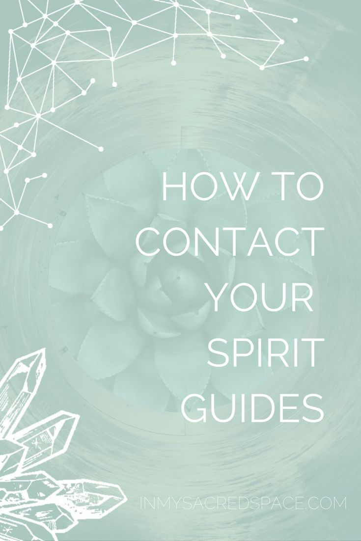 how does your spirit guide communicate