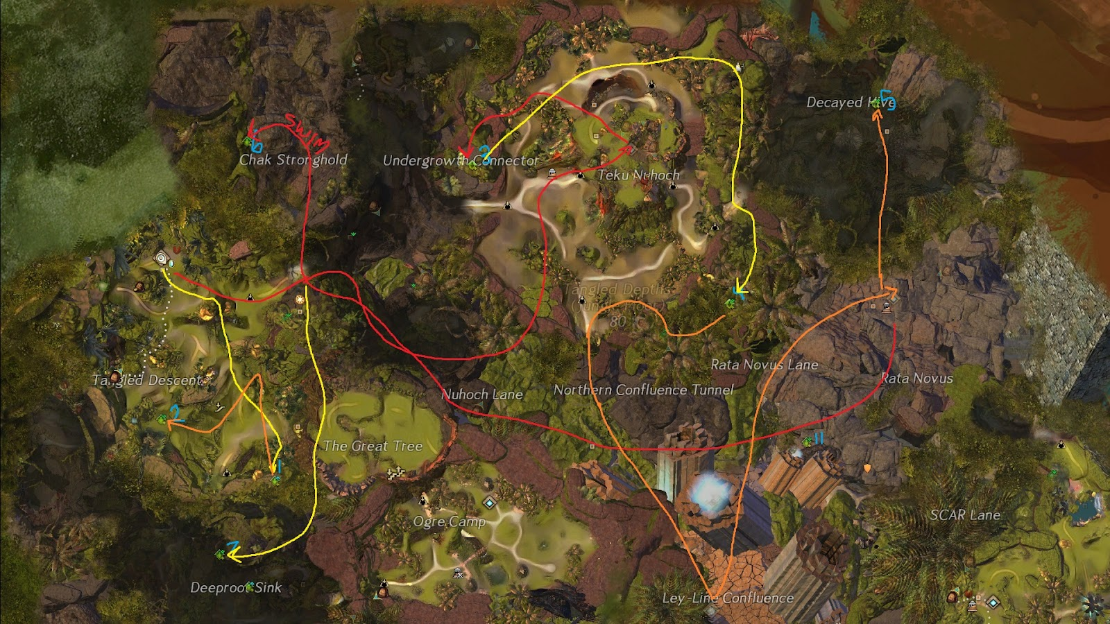 gw2 hot map completion guide