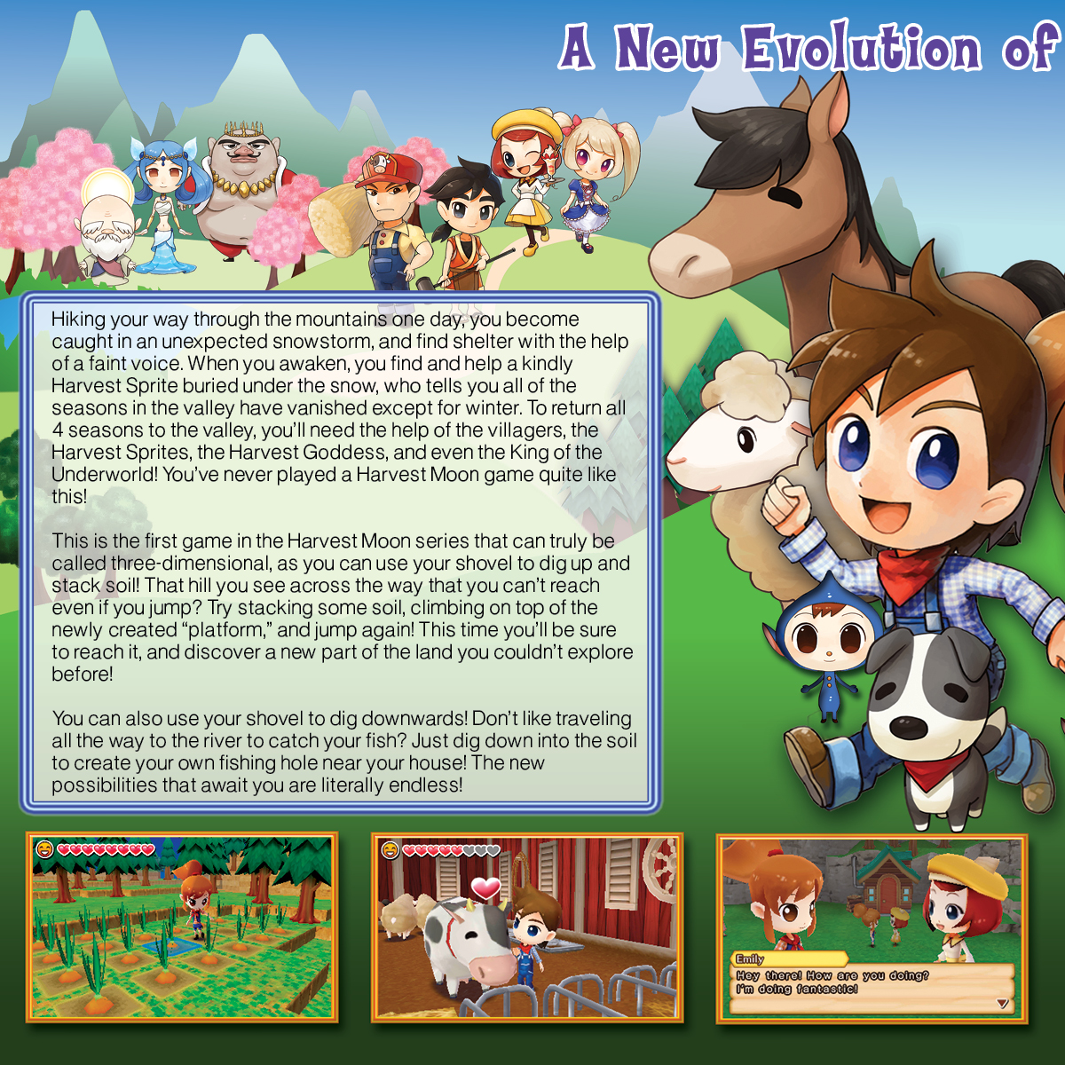 harvest moon a new beginning guide gamecube